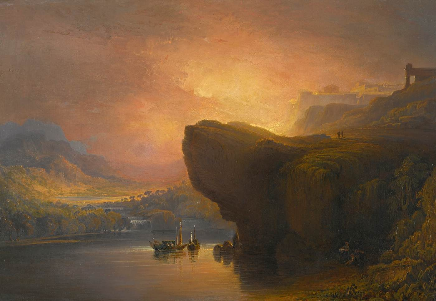 The City of God and the Waters of Life by John Martin, 1850